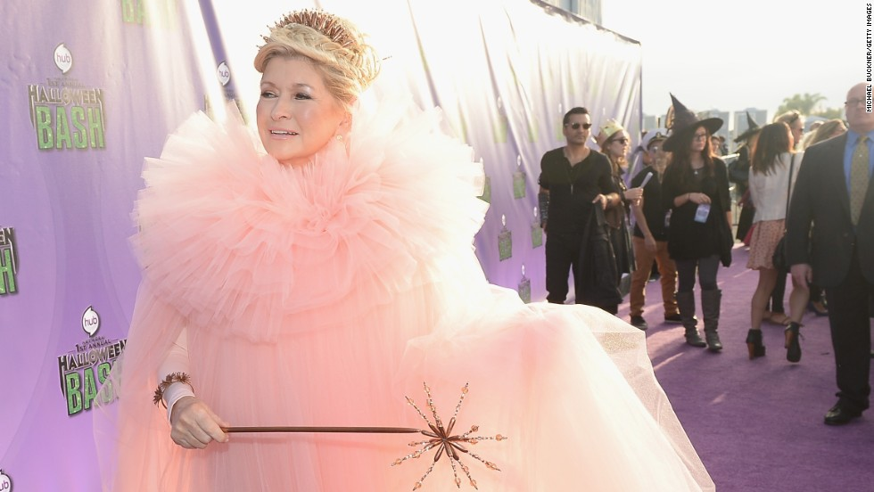 We can't be the only ones who secretly wish that Martha Stewart really <em>was</em> our fairy godmother, like she pretended to be at the Hub Network's first Halloween party in October 2013.