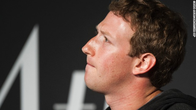 Facebook Founder and CEO Mark Zuckerberg speaks during an interview session with The Atlantic at the Newseum in Washington, DC, on September 18, 2013. AFP PHOTO/Jim WATSON (Photo credit should read JIM WATSON/AFP/Getty Images)