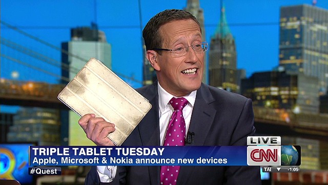 Tuesday means tablets
