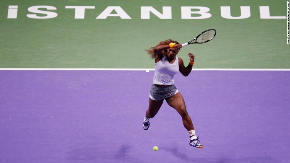 Serena became the oldest WTA Championships winner by beating Li Na in the Istanbul final and amassed $12.3 million over the season. She became the first player to win 11 titles in a year since Martina Hingis bagged 12 in 1997.