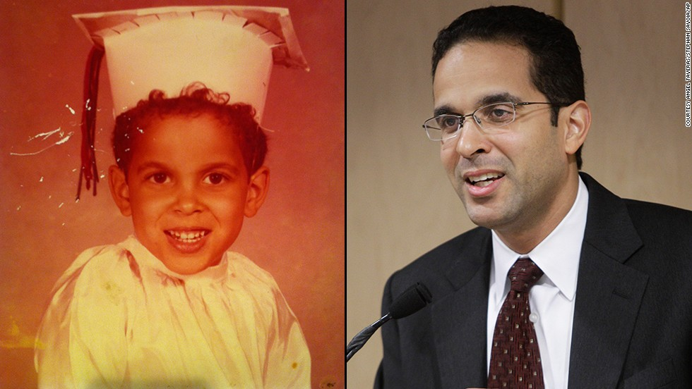 "Providence, Rhode Island, Mayor Angel Taveras wanted to be a lawyer. ""Around the fourth or fifth grade, I saw my sister Dinora go on to college. She was the first in my family to go to college. She was seven years older and I started to see the possibilities that existed and I knew that if she did it, then I could do it, too."""