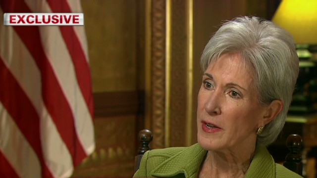 Sebelius: We need people to sign up