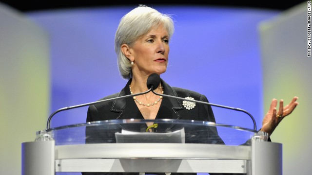 ORLANDO, FL - JULY 16:   U.S. Health and Human Services Secretary Kathleen Sebelius speaks to the National Convention of the NAACP on July 16, 2013 in Orlando, Florida. Attorney General Eric Holder condemned the 'Stand Your Ground' laws and discussed the George Zummerman not-guilty verdict in the shooting death of Trayvon Martin.   (Photo by Tim Boyles/Getty Images)