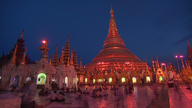 Touring Myanmar's holiest site