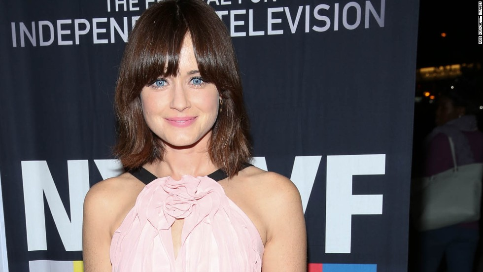 "When it came to the dream actresses to portray Anastasia Steele, the ""Fifty Shades"" fandom mentioned stars like Alexis Bledel, pictured, Felicity Jones and Elizabeth Olsen."