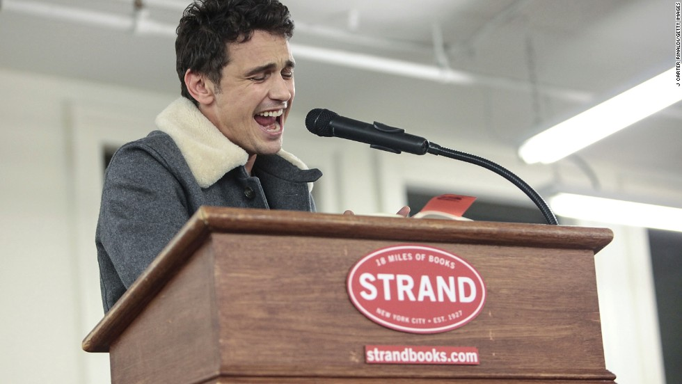 "Sometimes the question about James Franco is whether he's an actor or is merely playing one, because he does many other things. He's written books -- including ""Actors Anonymous"" -- he's sung, and he's taught at New York University, Columbia and UCLA. In March, he'll release a book about Lana Del Rey."