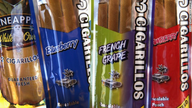 "Flavoring makes tobacco ""easier to use and more appealing to youth,"" according to a CDC official."
