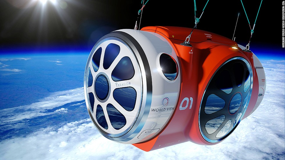 The company claims it will be a gentle ride in a luxurious space capsule that fits eight passengers.