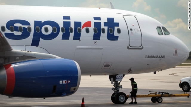 Two Spirit Airlines flights have had mechanical troubles in flight this month.