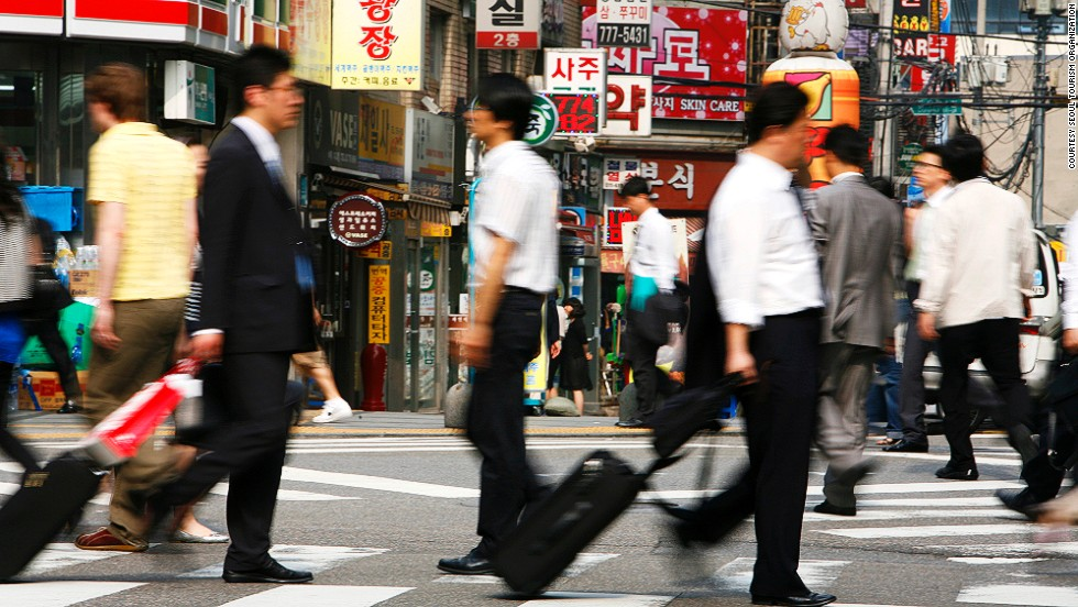 Since Seoul is vast -- it takes a lot more time to get around than you might think. Due to unpredictable/terrible traffic, business travelers should factor in at least 30-60 minutes of buffer time for getting to meetings on the other side of town.
