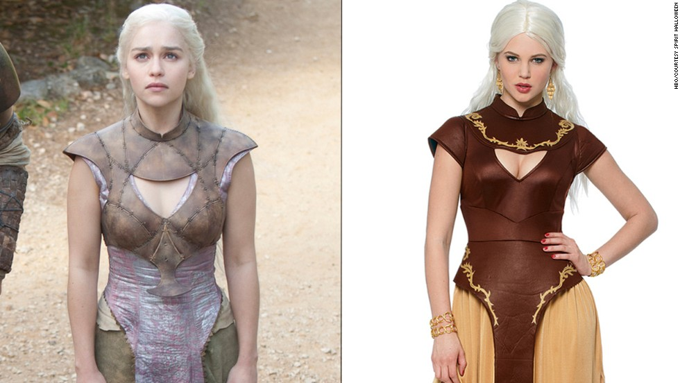 "Winter is indeed coming, so get ready with the ""Game of Thrones"" Khaleesi Blue Warrior Princess costume."
