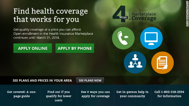 Political fallout over Obamacare site