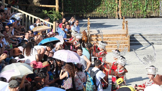 Tourists flock to minority villages
