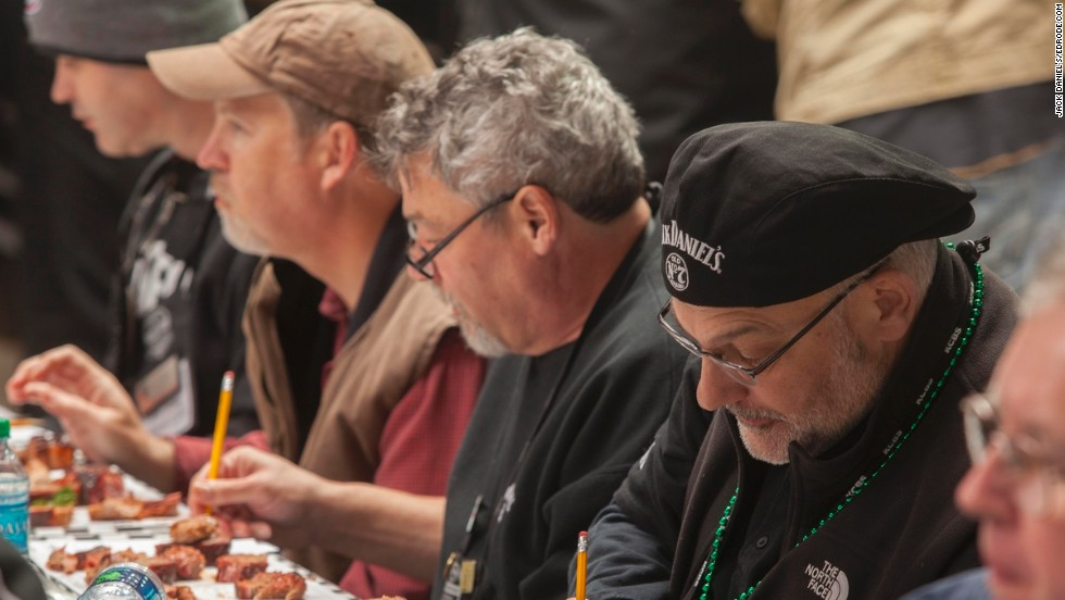 Judges for The Jack must be certified by the Kansas City Barbeque Society and sworn in before they can participate.