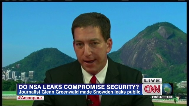 Greenwald: Spying isn't about terrorism