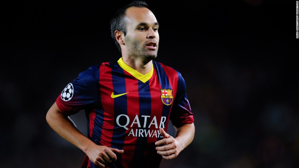 <strong>Andres Iniesta</strong> (Barcelona & Spain) <strong><br />CNN rating: </strong>Longshot <br />Iniesta's pedigree and talent makes him one of the finest players on the planet, but the midfielder will likely suffer as a result of Barcelona's crushing defeat at the hands of Bayern in the Champions League semifinals.