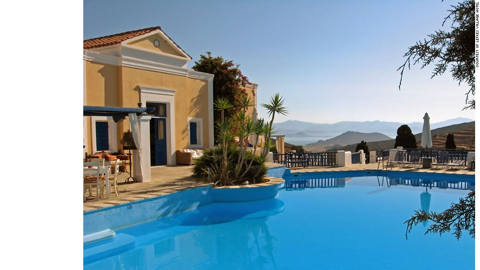 Lefkes Village Hotel in Paros delivers a Greek island vacation without the high prices of neighboring islands.