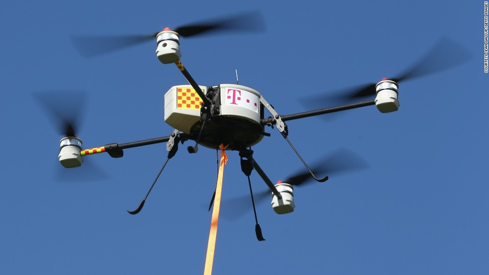 "German communications provider <a href=""http://www.telekom.com/home"" target=""_blank"">Deutsche Telekom</a> is tired of people stealing their copper cables. So they contracted a company to tag overhead telephone cables with drones across Germany in an effort to fight theft of the cables, which has shot up in recent years with the value of copper."