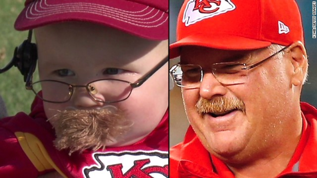 baby dressed as chiefs coach is adorable   cnn video