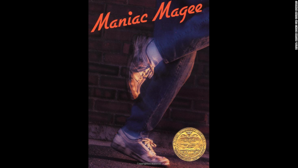 "Author Jerry Spinelli won the 1991 Newbery Medal for ""Maniac Magee,"" the story of a homeless teen. ""It was one of my favorite books as a kid and deals with issues like diversity, racism, homelessness and bullying. Plus, it's just a fun book,"" one reader said."