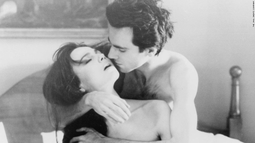 "Daniel Day-Lewis and Lena Olin had some sexy scenes in ""The Unbearable Lightness of Being."""