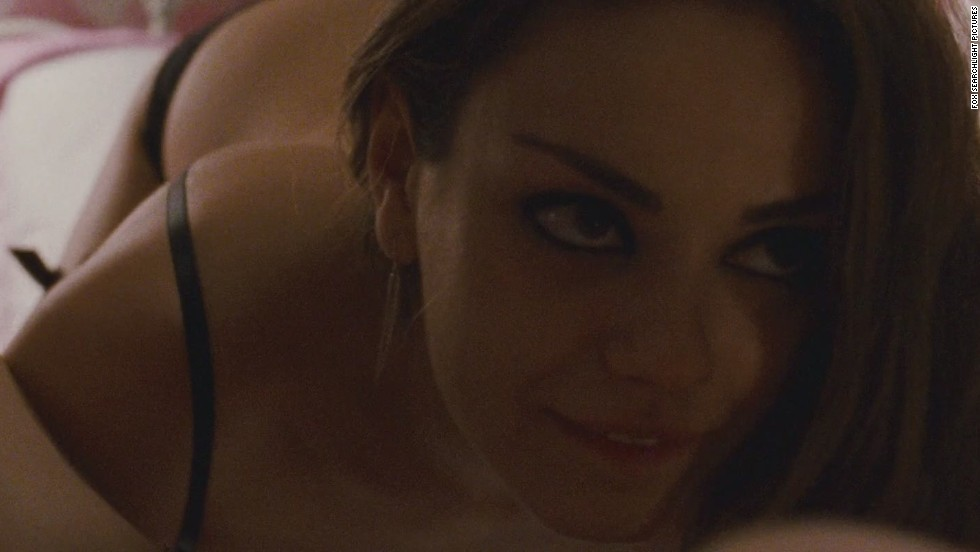 "Mila Kunis <a href=""http://moviesblog.mtv.com/2010/12/01/mila-kunis-bans-father-black-swan-sex-scene/"" target=""_blank"">reportedly banned her father from watching her sex</a> scene with Natalie Portman in ""Black Swan."""