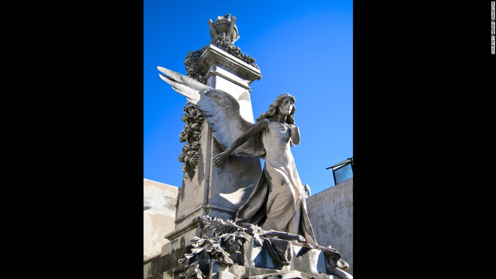 Founded in 1822, this Argentinian cemetery is where Evita Perón and her father's family, the Duartes, are interred in the family tomb.
