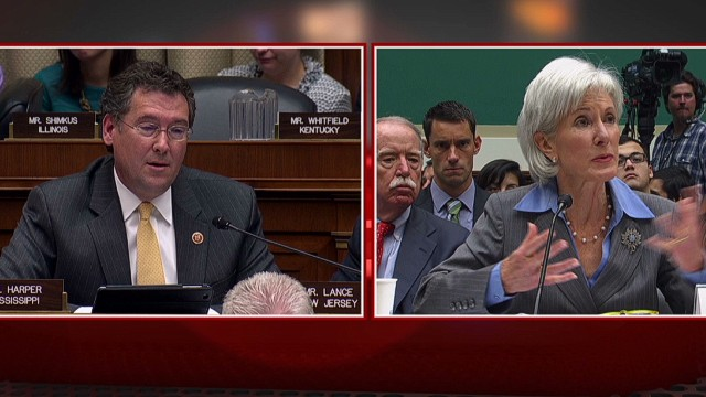 Sebelius to Congressman: 'Whatever'