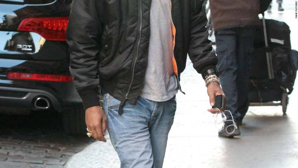 Pharrell Williams maintains his cool cat status while in New York City on October 28.