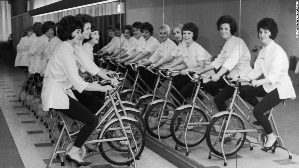 """Spin classes are a good way to avoid repetitive miles on the stationary bicycle. Spinning mimics all the benefits of a long ride outdoors with sprints and """"hills,"""" with the added benefit of strength training during breaks. Though these group classes have decreased in popularity in recent years, gyms are finding new ways to spice them up -- like <a href=""""http://www.youtube.com/watch?v=bi3MBgTsyqY"""" target=""""_blank"""">adding water</a>."""