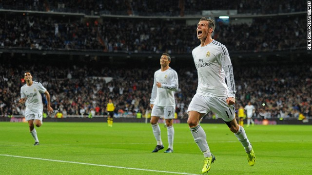 Gareth Bale scored twice on his first start for Real Madrid at the Bernabeu, while Ronaldo netted yet another hat-trick.