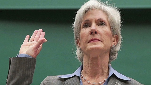 Secy. Sebelius in the hot seat