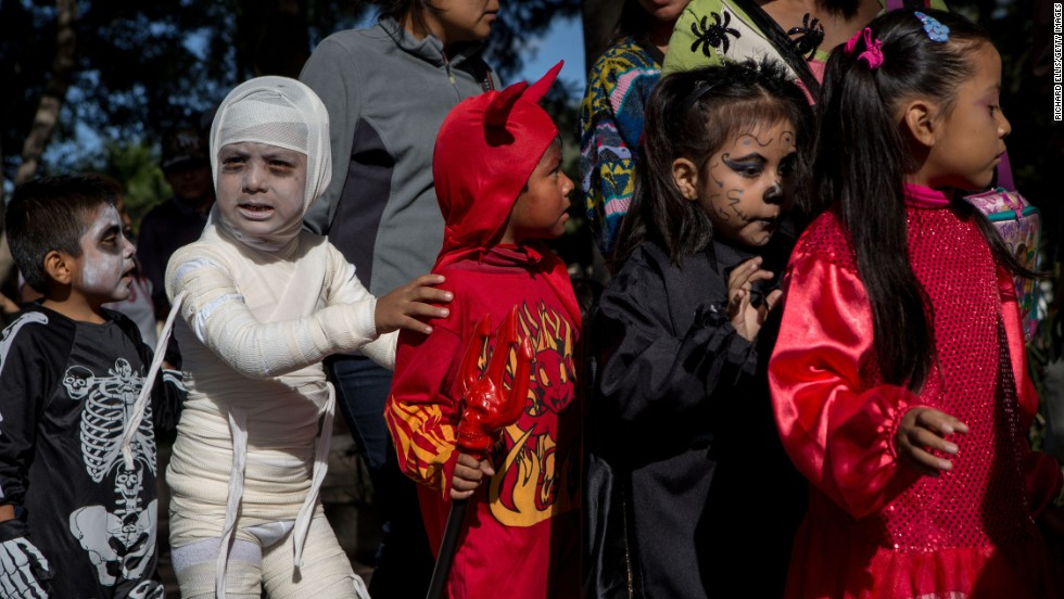 """While children often dress in costumes and participate in parades for Halloween, it's completely independent of Day of the Dead,"" says Juan Carlos Aguirre, executive director of Mano a Mano, a New York-based nonprofit organization dedicated to celebrating Mexican culture and promoting the understanding of Mexican traditions through arts and culture."