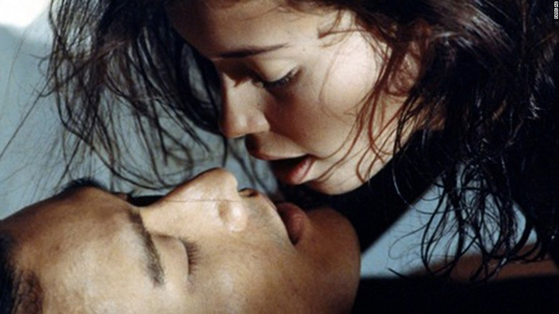 "Jane March and Tony Leung Ka Fai star as a young girl and her older lover in ""The Lover."""