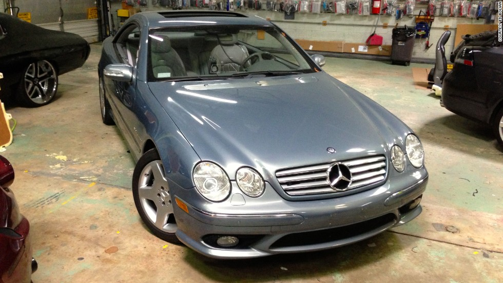 Bolian chose a Mercedes-Benz CL55 AMG for the dash. It offered a combination of gas mileage and performance the team needed to break the record.