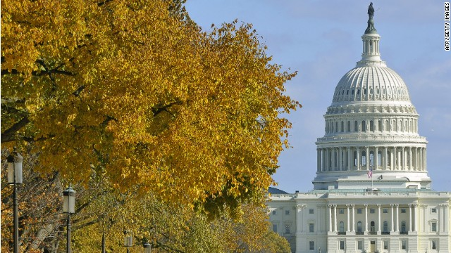 The US Congress building seen during a sunny November afternoon in Washington, DC, November 06, 2011. AFP PHOTO/Mladen ANTONOV (Photo credit should read MLADEN ANTONOV/AFP/Getty Images)