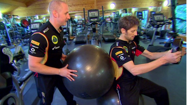 A crash course in F1 fitness