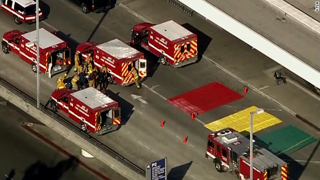 Police: Shots fired at LAX airport