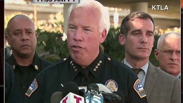 LAX police: This was a lone shooter