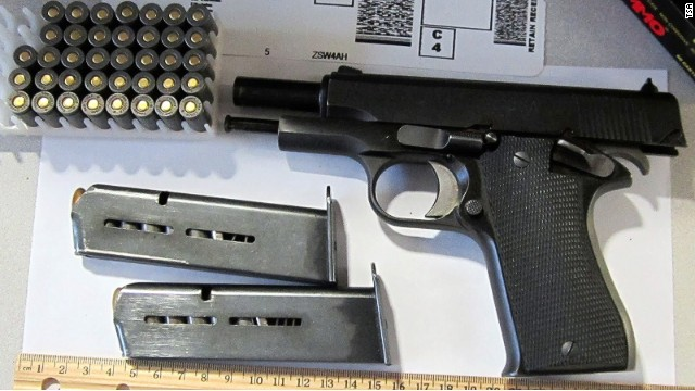 This weapon is one of 29 firearms confiscated at TSA checkpoints this week.