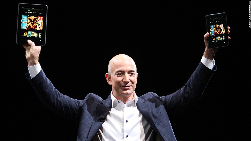 Amazon CEO Jeff Bezos was inspired by his former boss, hedge-fund manager David Shaw.