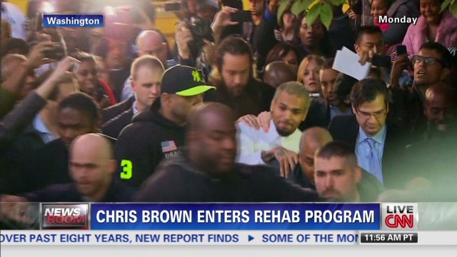 Chris Brown enters rehab program
