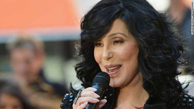 "Cher performs on NBC's ""Today"" show in New York City on September 23."