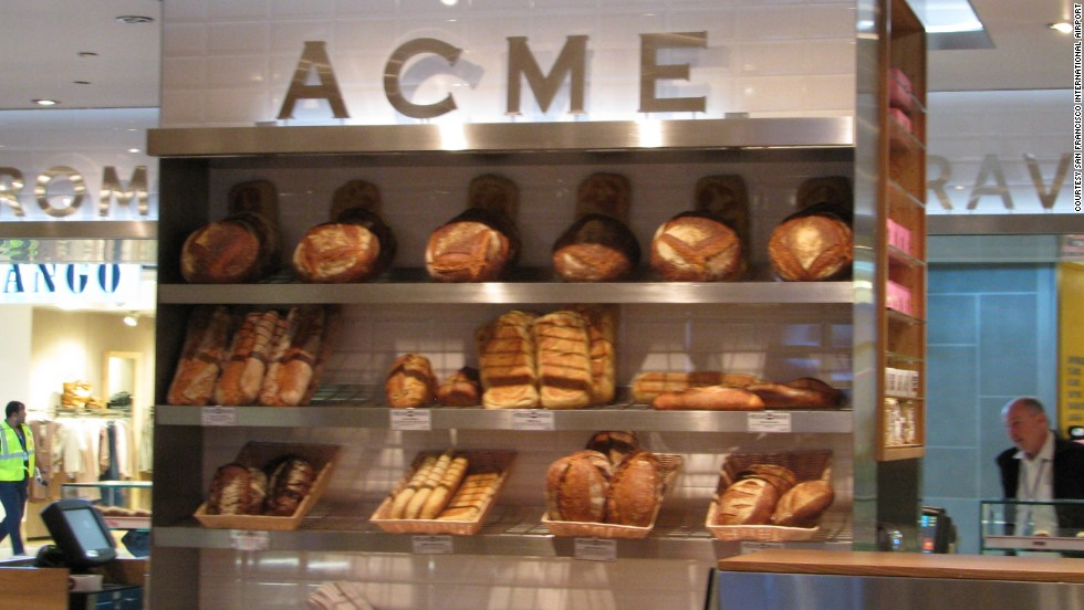 Acme Bread and Cowgirl Creamery have teamed up at the San Francisco airport to make some of the loveliest sandwiches you'll find anywhere.