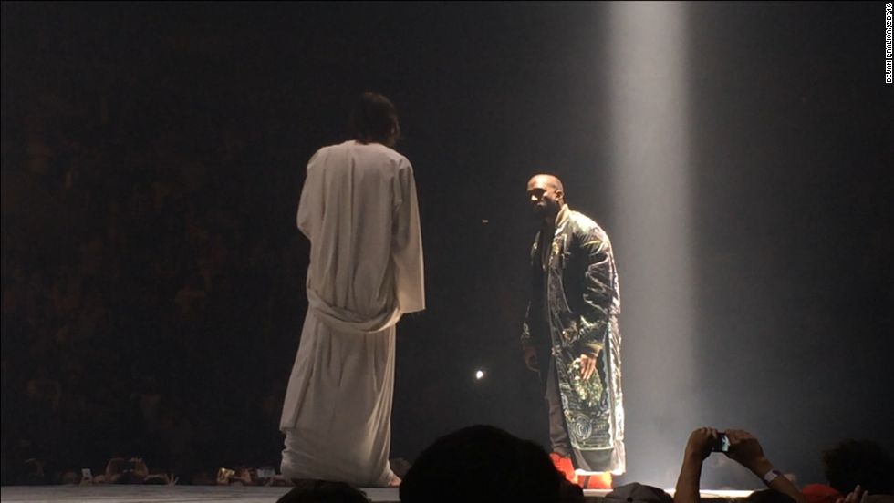 "<strong>October 2013: </strong>It wouldn't be a 'Ye performance if it didn't have a few special guests. West made sure his ""Yeezus"" tour would be a topic of conversation when he had a look-alike Jesus appear on stage with him at Seattle's Key Arena on October 19."