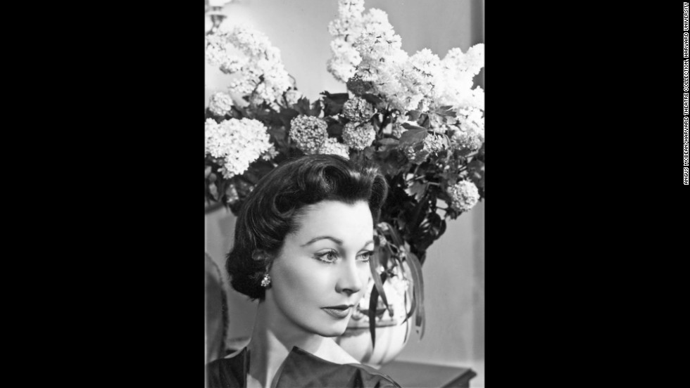 "This McBean shot was taken in 1956, when Leigh was starring in Noel Coward's ""South Sea Bubble"" at the Lyric Theatre in London's West End. Leigh's pregnancy at the time got a lot of media attention, but she left the production after suffering a miscarriage, Bean said.<br /><em>Image courtesy of ""Vivien Leigh: An Intimate Portrait"" (Running Press) </em>"