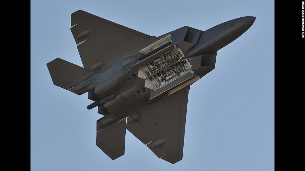 The F-22 Raptor interceptor, which uses stealth technology, completed its first successful flight in 1997.