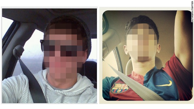 Young drivers snapping 'selfies' at the wheel