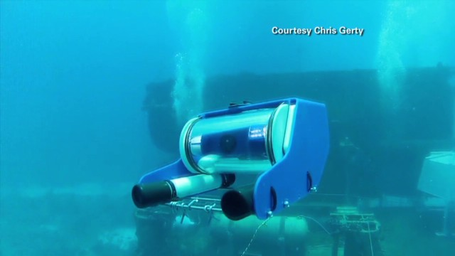 Control underwater 'drone' with laptop