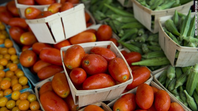 John Bare says there's untapped demand for fresh food and vegetables.